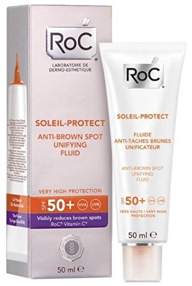 Roc Roc Soleil Protect Yüz Leke Kremi Spf50 50 Ml Renksiz